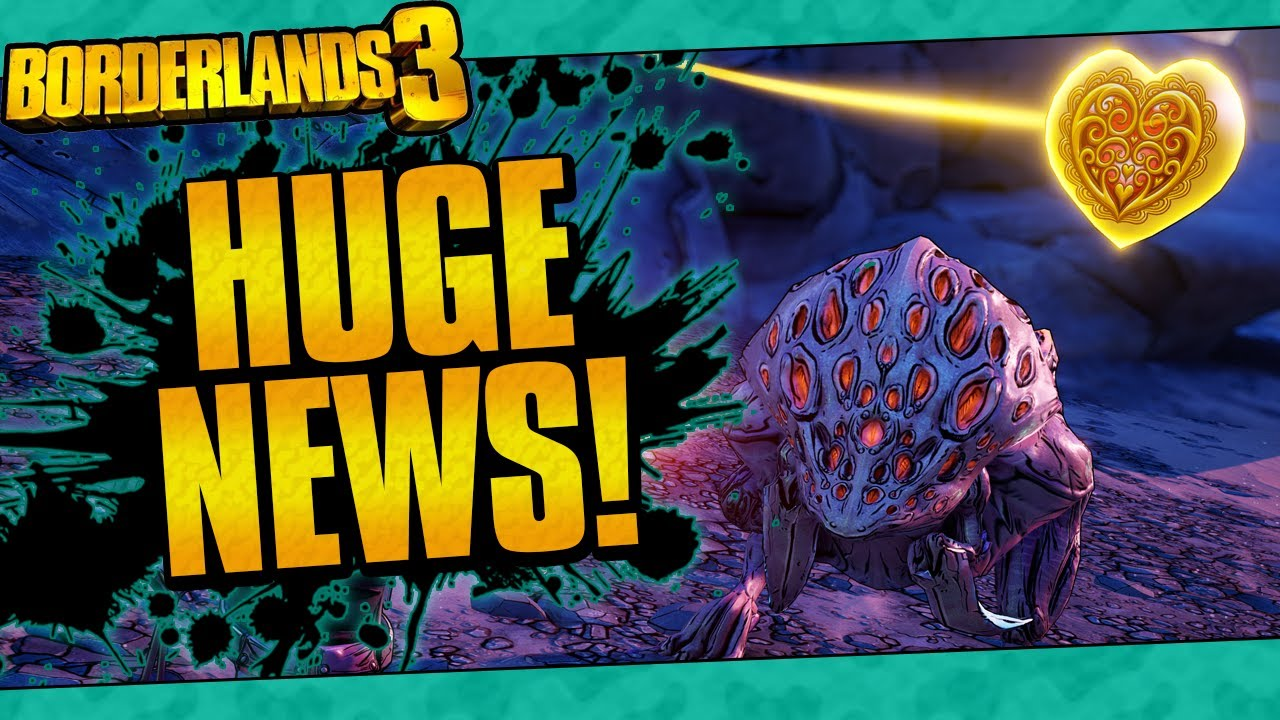 Borderlands 3 | SO MUCH IS COMING! (Level Cap Increase, Broken Hearts Event, And More!) thumbnail