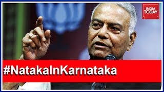 'Poaching Of MLAs Is Illegal': Former BJP Stalwart Yashwant Sinha Exclusive #NatakaInKarnataka