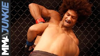 Alex Caceres back on winning track with TKO at UFC Fight Night 111.