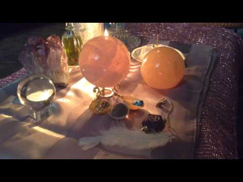 Crystal Energy Chakra Clearing and Realignment Video