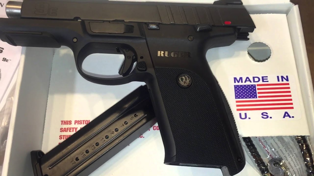 Quick Look Ruger 9e 9mm Sr9e