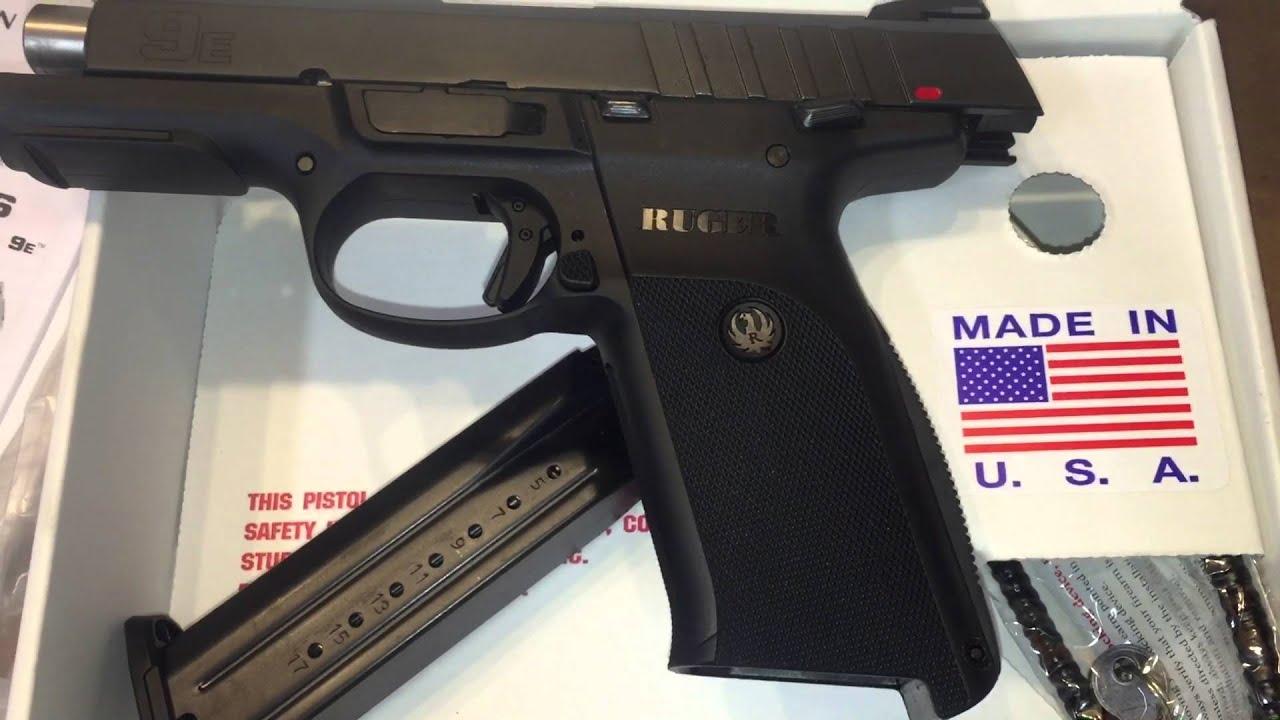 Quick Look: Ruger 9E 9mm SR9E