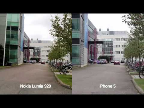 iPhone 5 and Nokia Lumia 920 Image Stabilization Test