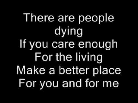 Heal the World  Michael Jackson lyrics