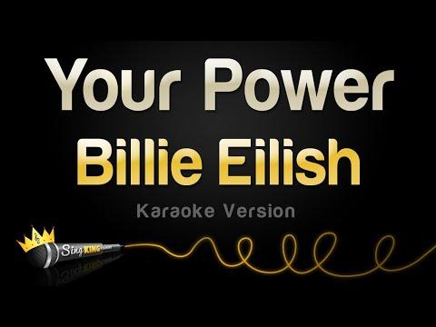 Billie Eilish – Your Power (Karaoke Version)