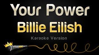 Billie Eilish - Your Power (Karaoke Version)