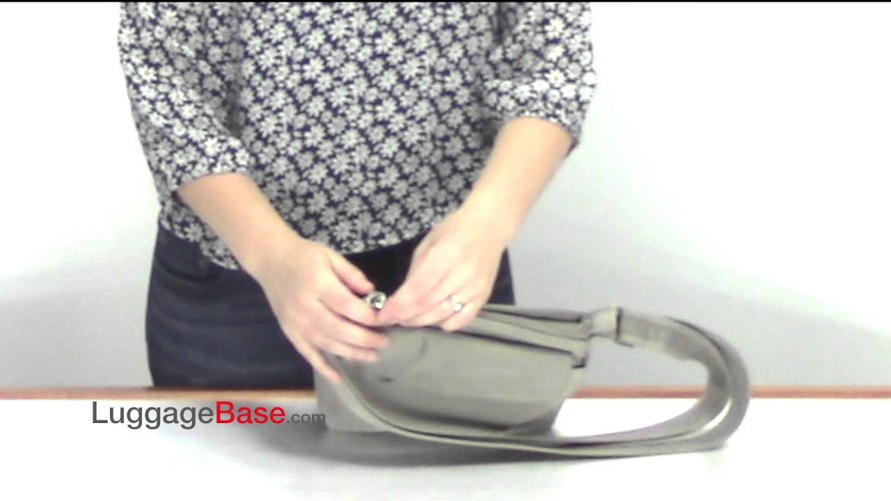 df9dc7e861 Travelon Anti-Theft Classic Mini Shoulder Bag - YouTube