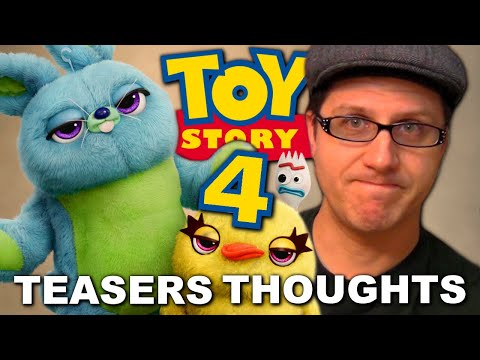 Toy Story 4 Teasers - A Skeptical Geek's Thoughts