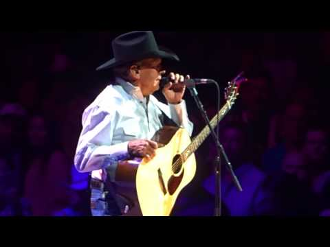 George Strait - Nobody In His Right Mind, live at T-Mobile Arena Las Vegas, 29 July 2017