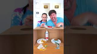 What else to try? #shorts Tiktok Food Challenge by Tiktoriki
