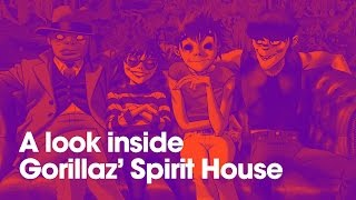 Here's what inside the Gorillaz​ Spirit Houses