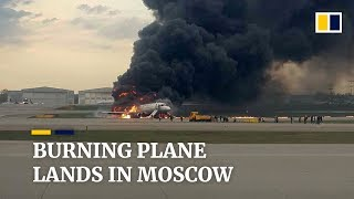 41 people killed after burning plane lands in Moscow, Russia