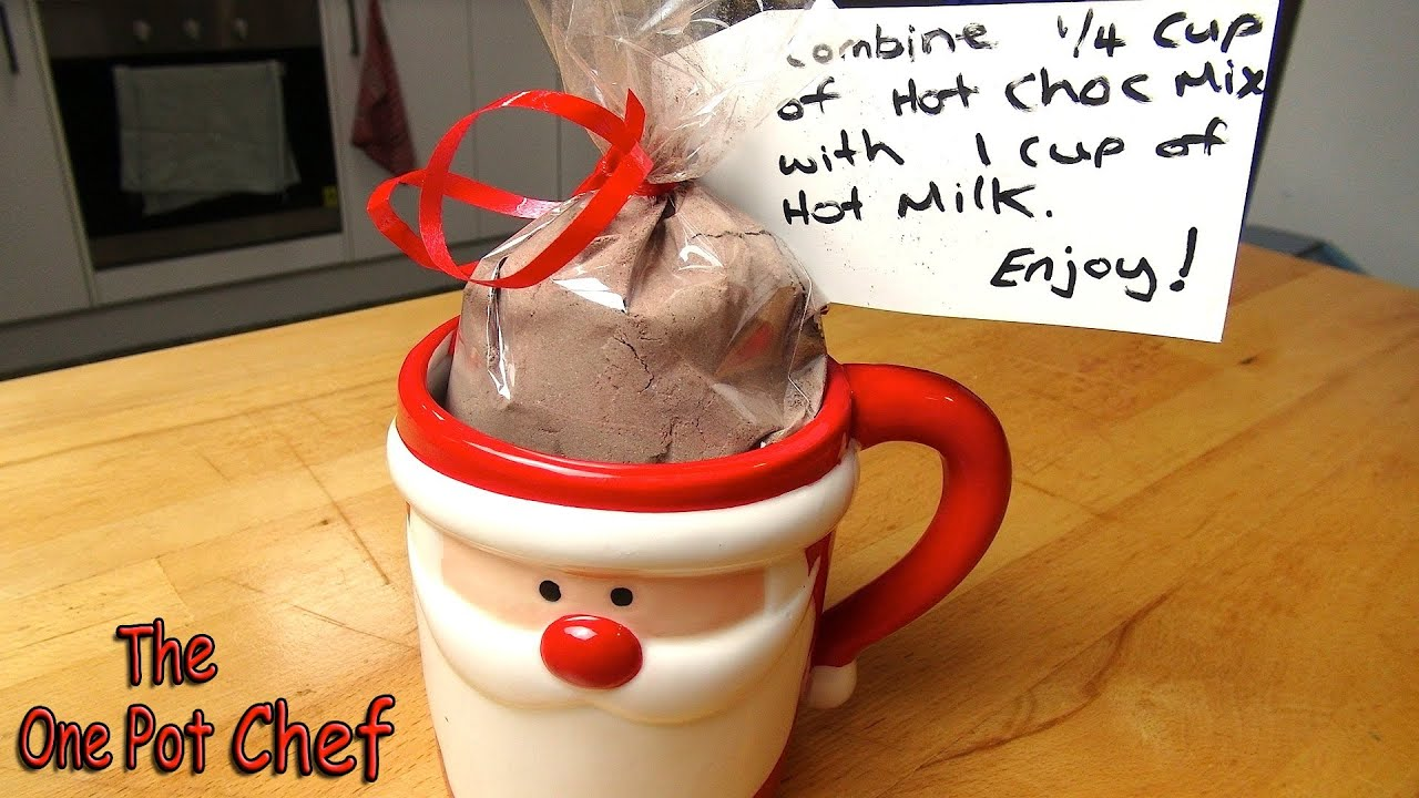 Quick Tips: Christmas Hot Chocolate Gift Packs | One Pot Chef - YouTube