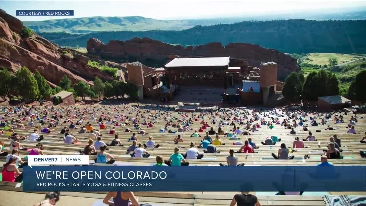 Yoga On The Rocks Starts Today At Red Rocks Youtube