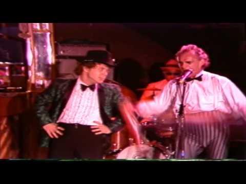 Johnny Melville' Midnight Cabaret at Theater Spektakel Zurich  1985