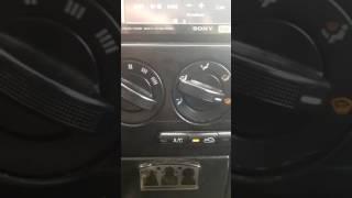 Kia spectra. Автоматически включение кондиционера.