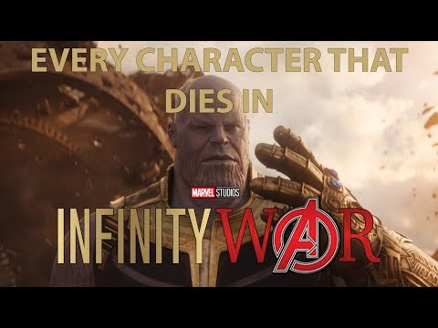 Every Character That Dies in Avengers: Infinity War (SPOILERS)