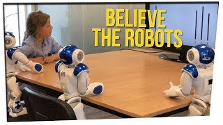 Study Suggests Children are Easily Swayed by Robots ft. Steve Greene & Nikki Limo