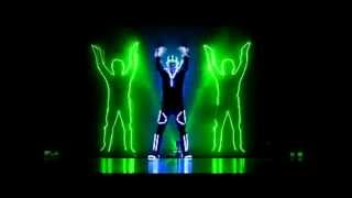NRGman new  Laserman SHOW 2014