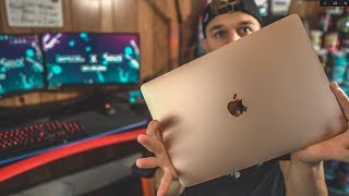 NEW 2019 MacBook Air UNBOXING and Setup!