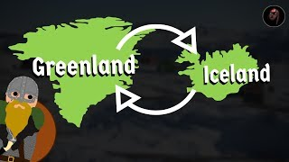 Why did the Vikings Call Greenland Green and Iceland Icy?