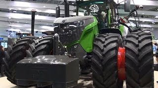 Fendt 1000 Vario named Machine and Tractor of the Year 2016