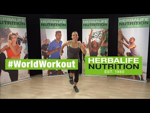 Herbalife World Record Workout Routine | #WorldWorkout – March 7 2015