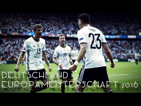 EM 2016 - Deutschland Alle Tore & Highlights