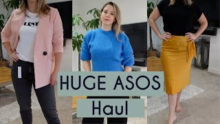 HUGE ASOS HAUL - WINTER TO SPR…