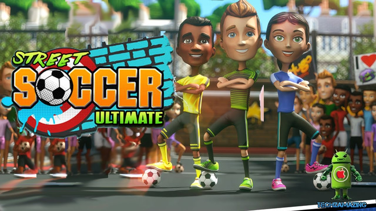 STREET SOCCER ULTIMATE iOS / Android Gameplay HD - YouTube