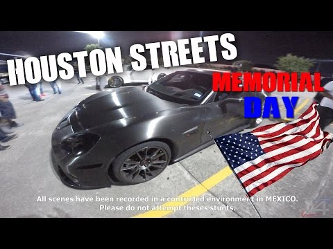 Houston Street Racing Memorial Day Action
