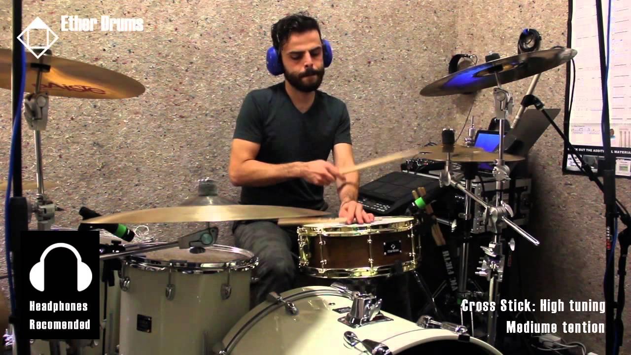 ether drums snare drum sound sample youtube. Black Bedroom Furniture Sets. Home Design Ideas