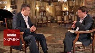 Виктор Янукович: на Донбассе происходит геноцид