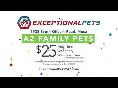 Exceptional Pets Veterinary Services -- Grand Opening Mesa!