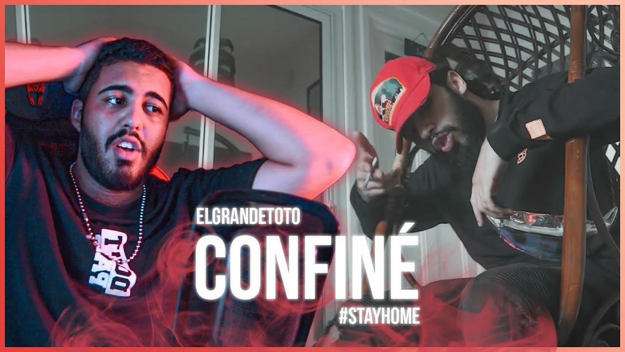 ElGrandeToto - Confiné (Prod. by OldyGotTheSound) (Reaction)