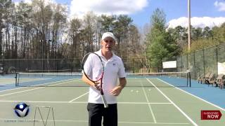 Backhand Tennis Lesson: Get more height and topspin on the backhand