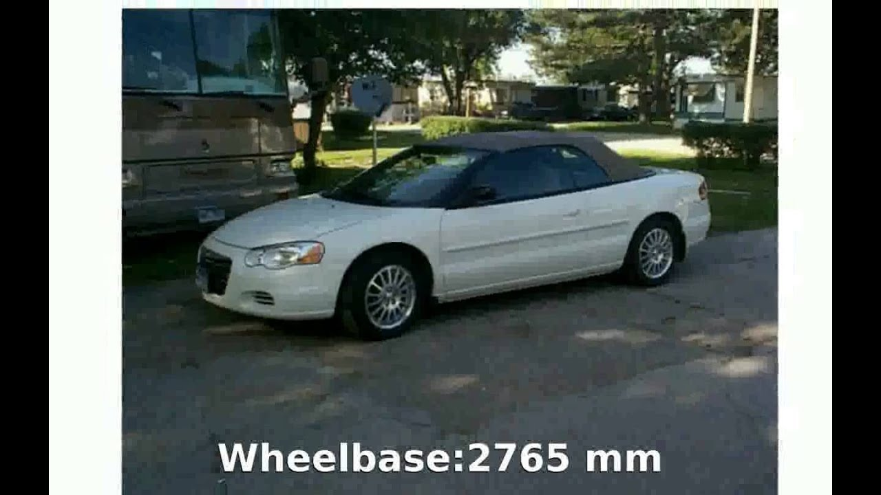 2006 chrysler sebring convertible specs features youtube 2006 chrysler sebring convertible specs features sciox Images