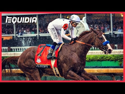 TRIPLE CROWN POUR JUSTIFY ! | Belmont Stakes 2018