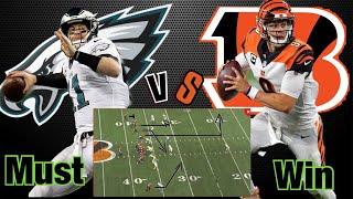 Philadelphia Eagles VS Cincinnati Bengals Preview & Predictions| Joe Burrow Empty Set Film Study!!