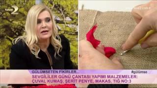 Derya Baykal'la Gülümse: Sevgililer Günü Çantası ve Şerit Penye ile Kalp Yapımı