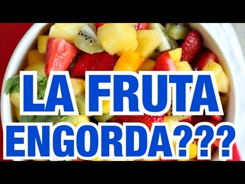 comer frutas y verduras engorda