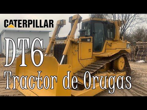 Tractor de Orugas Caterpillar D6T