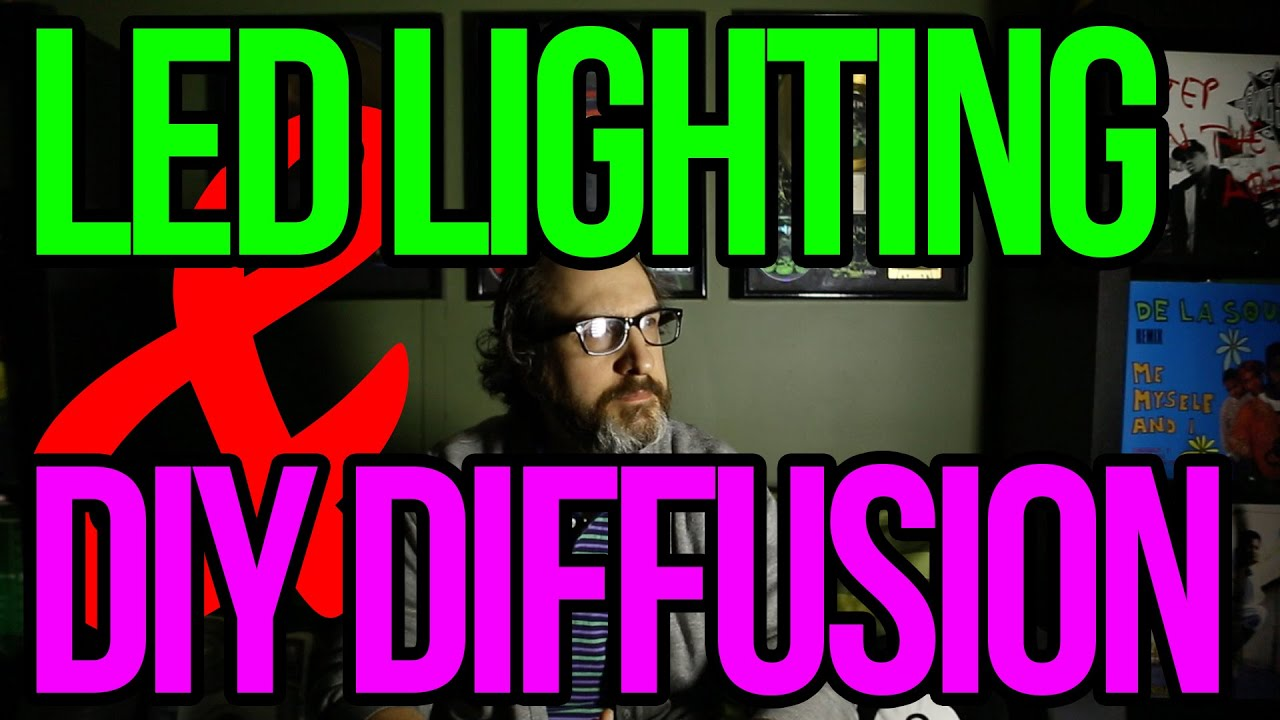 The Cheap Diy Hack To Diffuse Your Led Lights Youtube