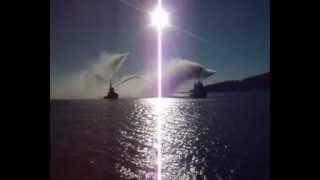 Kdz Ereğli Deniz Üzerinde Kabotaj Bayramı Su Gösterisi