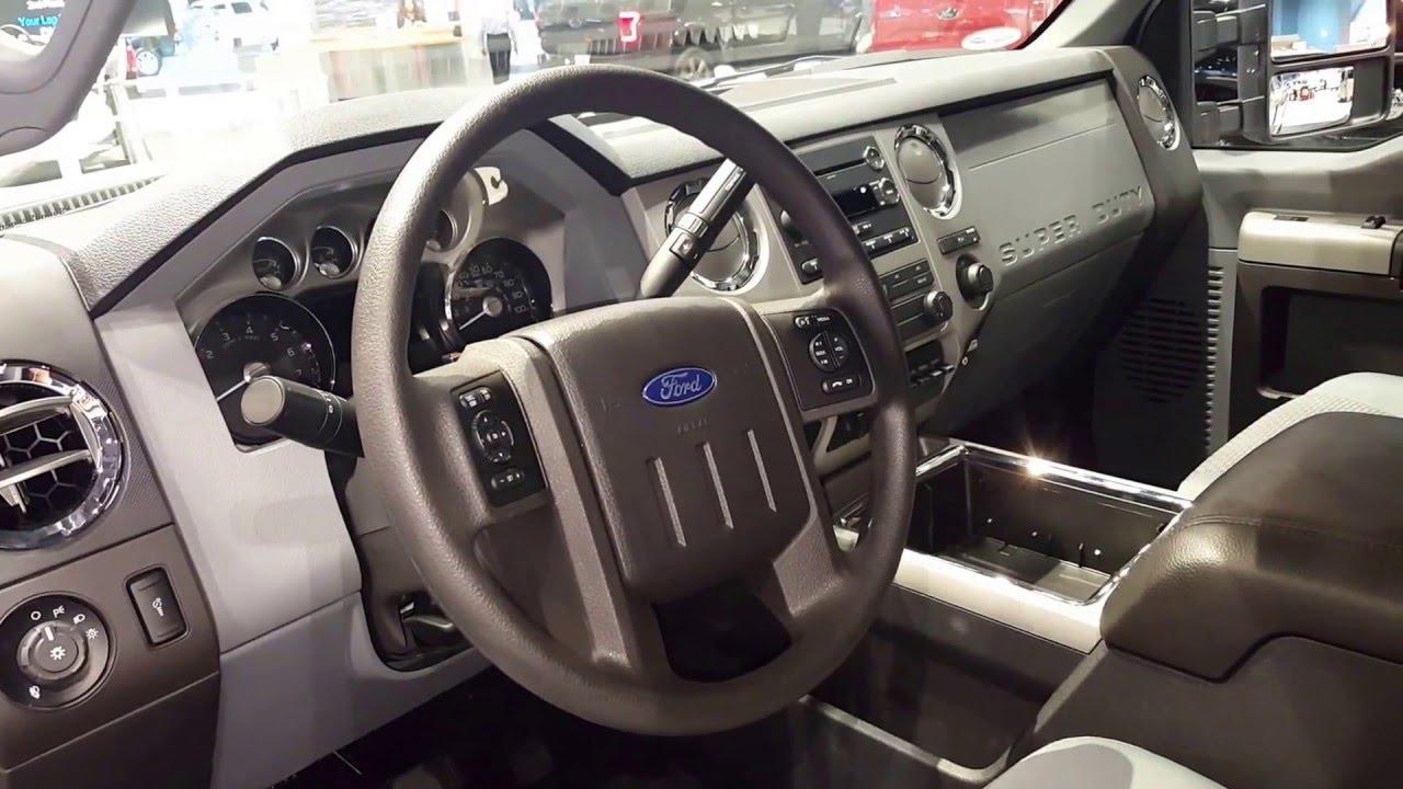 2016 Ford F250 Super Duty Interior 2016 Chicago Auto Show
