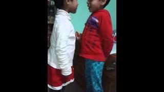Bangladeshi baby lip kiss