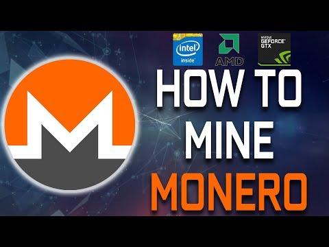 How To Mine Monero (CPU & GPU)