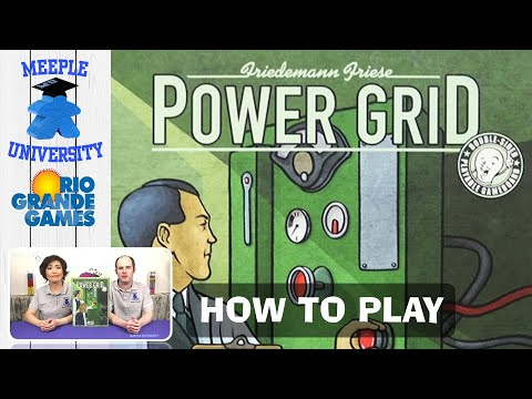 Power Grid Board Game - How To Play. By Stella And Tarrant
