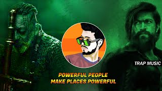 Powerful People Make Places Powerful ! KGF Chapter 2 - TRAP BGM - Dj SiD Jhansi #KgfStatus