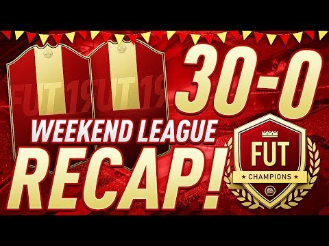 30-0 IN WEEKEND LEAGUE WITH TWO NEW AMAZING RED PLAYERS!! FUT CHAMPIONS TOP 100 GAMEPLAY